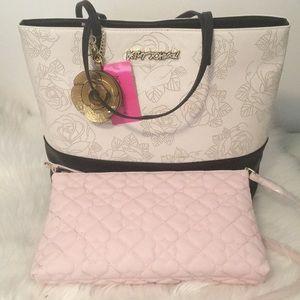 Betsey Johnson Tote with Bonus Bag